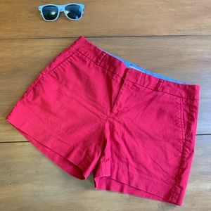 Like New Banana Republic Red Shorts Size 10
